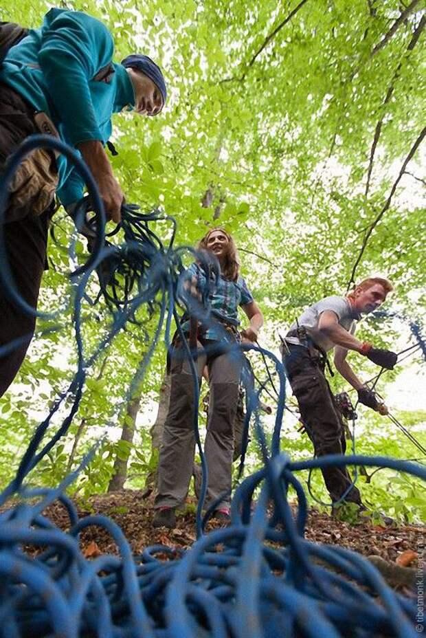ropejumping19 Прыжок в Сухое озеро