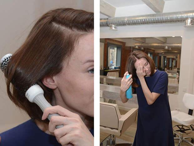 Прическа в домашних условиях -- как красиво уложить волосы средней длины