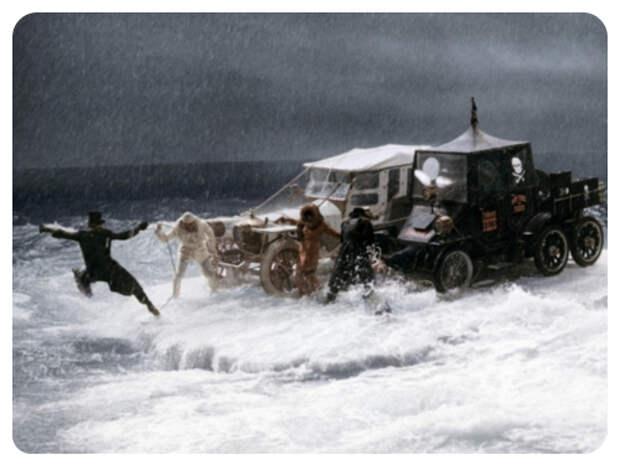 10 занятных фактов о съёмках фильма «Большие Гонки».