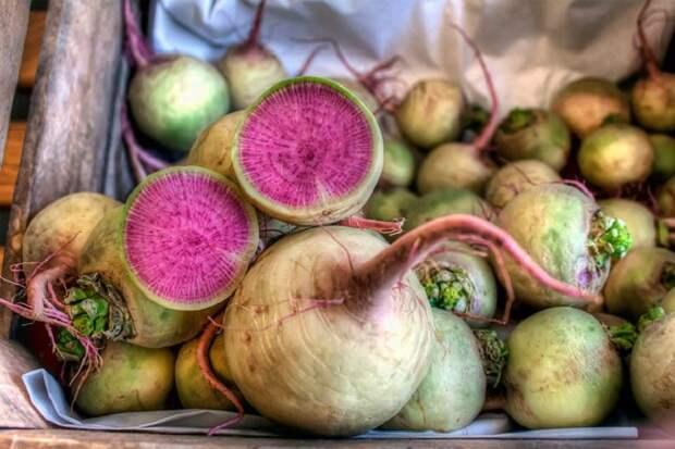 Невиданные овощи
