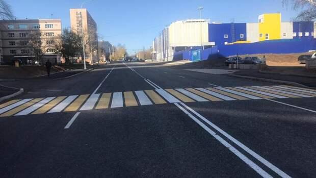 В Оренбурге по улице Уральской после ремонта вновь открыто движение автотранспорта