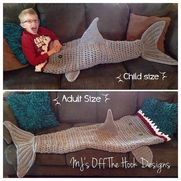 Девочкам - русалки, мальчикам - акулы