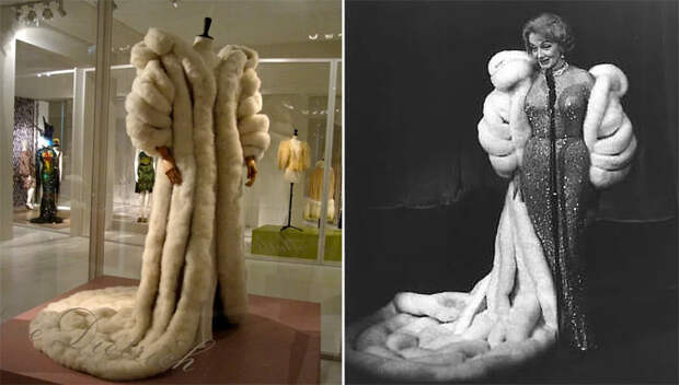 Уникальное пальто из лебединых перьев Марлен Дитрих сегодня хранится в музее моды