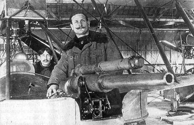 Первый в мире самолёт штурмовой авиации С-19 Сикорского