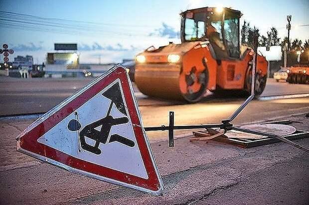 Ремонт двух путепроводов на трассе «Дон» начался в Подмосковье
