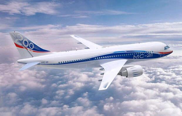 В ЦАГИ испытывают крупномасштабную модель самолета МС-21