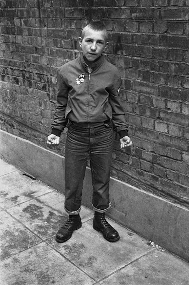 Лондонские скинхеды, фотографии Дерека Риджерса, начало 1980-х