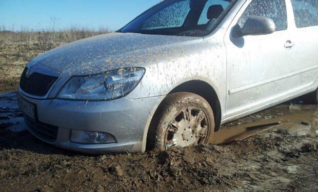 Выезжаем из грязи без чужой помощи
