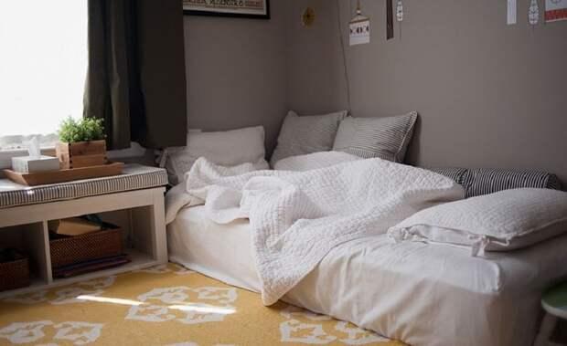 Возможна ли спальня без кровати: 12 примеров и нюансы, о которых стоит знать
