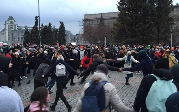 Электрошокеры и задержания - как прошел в РФ День солидарности с Навальным