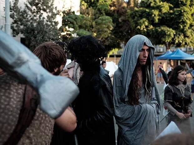 """""""Игра престолов"""" в Тель-Авиве: фестиваль любителей фэнтези"""