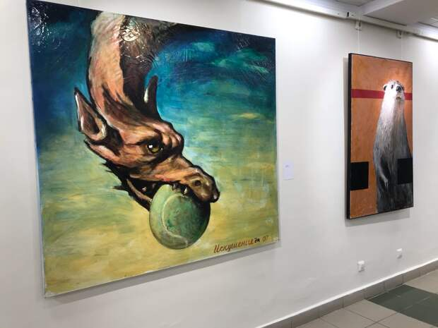 Выставка-ретроспектива работ художника Энвиля Касимова открылась в Ижевске