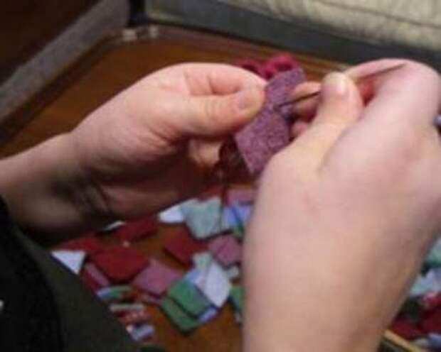 Простые новогодние поделки из фетра. Как сделать новогодние игрушки из фетра своими руками