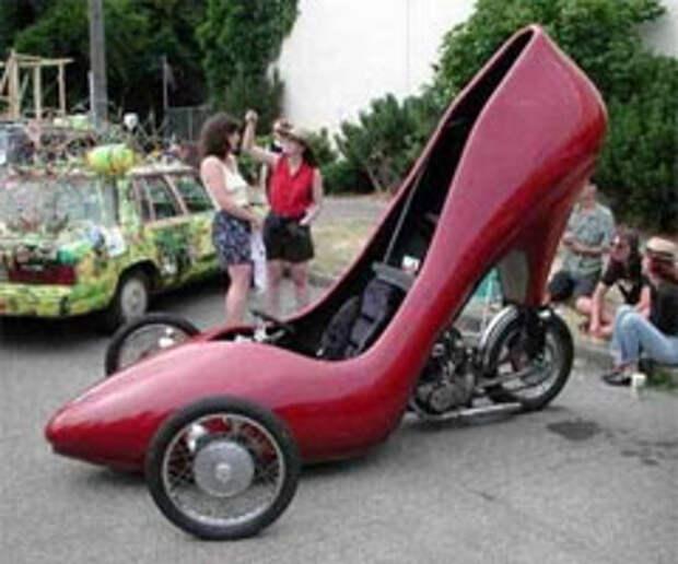 Истинно женский автомобиль: концепция тюнинг-ателье
