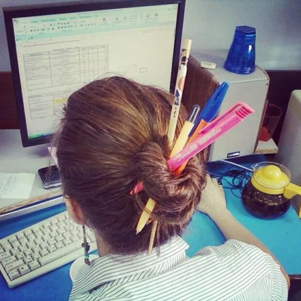 Приколы на работе (17 фото)