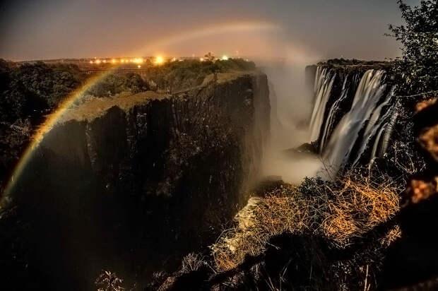 rainbow23 Радуга над самым большим водопадом в мире