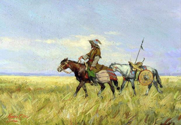 Вооружение кочевого населения северо-восточных районов Золотой Орды