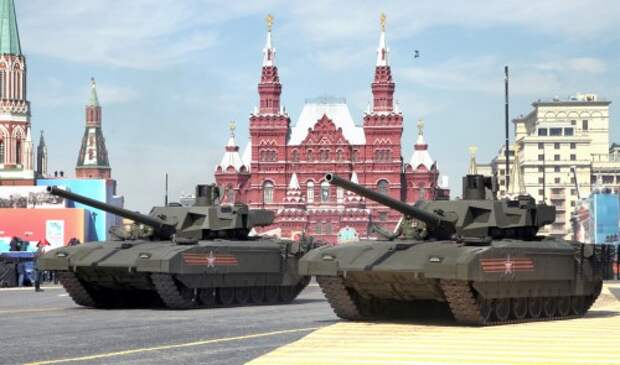 Victory Day military parade in Moscow's Red Square