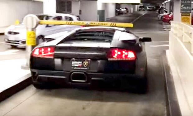Лайфхак: как не оплачивать паркинг? Купи Lamborghini!