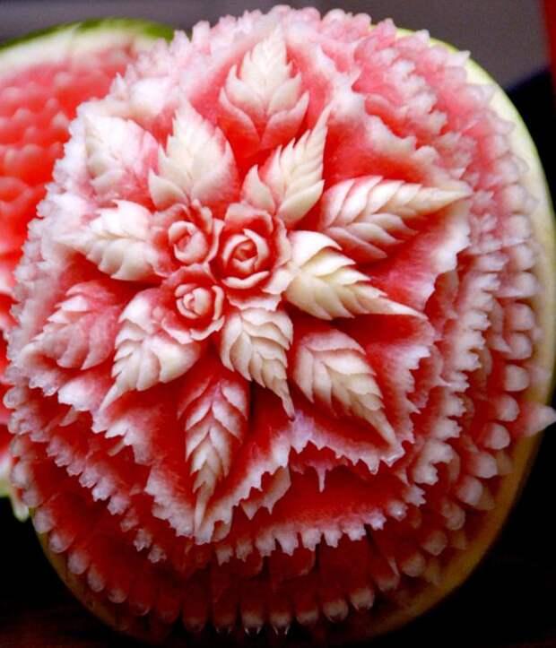 Карвинг - Огромный цветок из орбуза