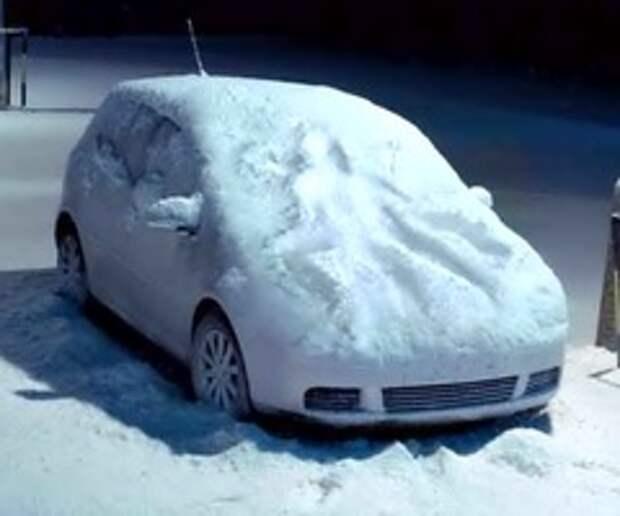 Спонтанный секс на снегу – новогодняя сказка