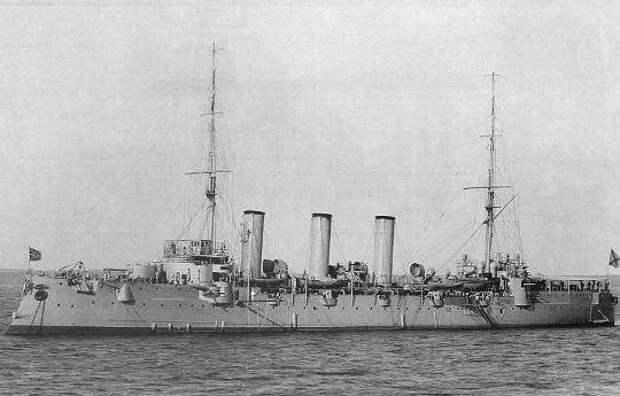 Русские моряки отстояли честь Анреевского флага.Фиумский инцидент, 1910 год.