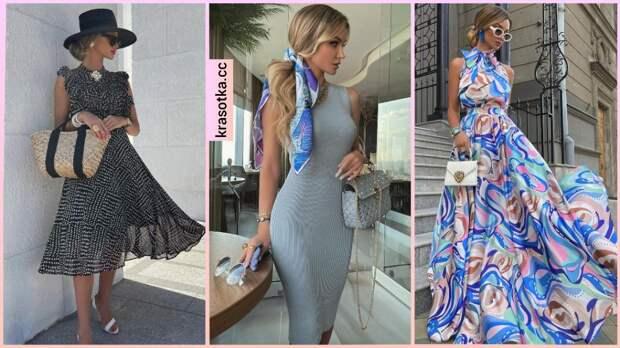 Как и с чем носить платье без рукавов: 12 изящных и модных идей