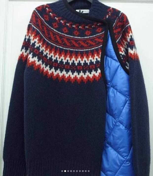 Непромокаемый свитер