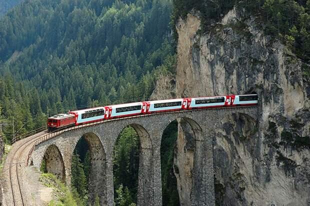 Chbahns63 Топ 5 самых необычных железных дорог Швейцарии