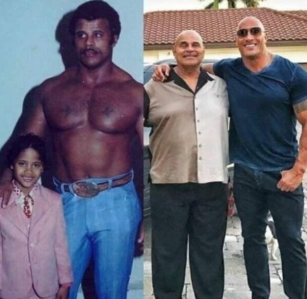 Рокки Джонсон — отец Дуэйна «Скалы» Джонсона в свои 74 года