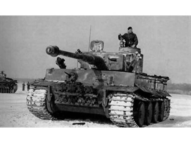 Зачем немцы штукатурили танки