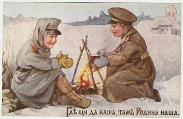 Главными и полезнейшими блюдами Суворов считал щи и кашу. /Фото: imtw.ru