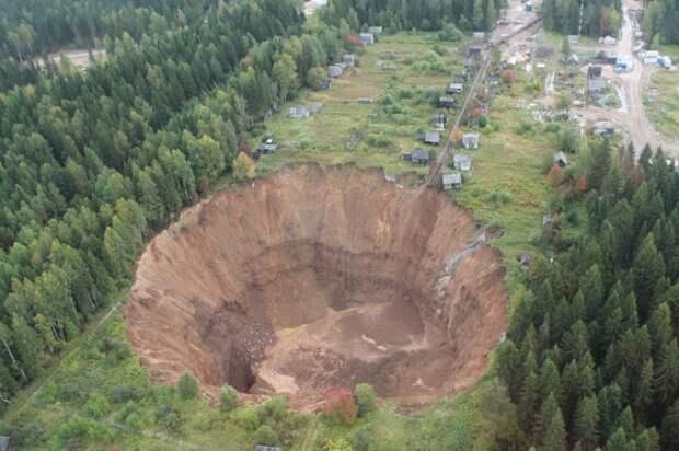 Провал в Соликамске за девять месяцев увеличился в 25 раз!