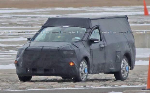 Ford Focus превратят в легковой пикап. Первые фото