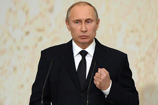 Путин объявил патриотизм национальной идеей: Политика: Россия ...