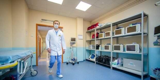 Собянин поздравил медиков с Международным днем медицинской сестры/ Фото mos.ru