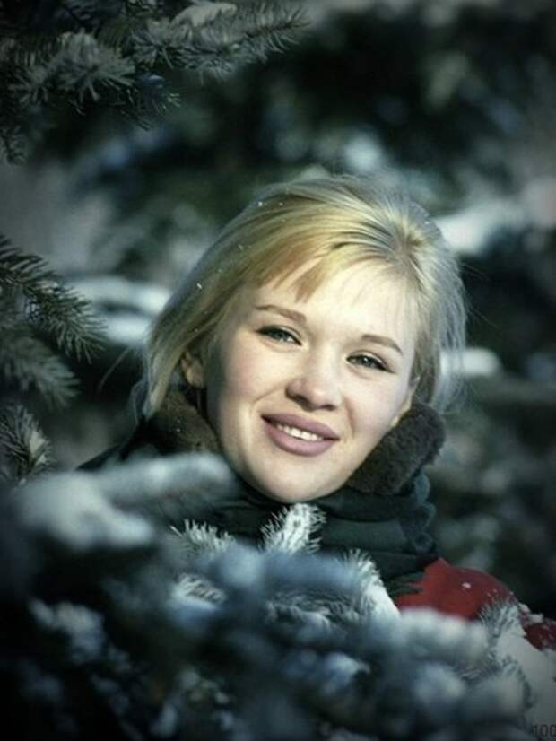 Зимняя фотосессия Галины Польских.