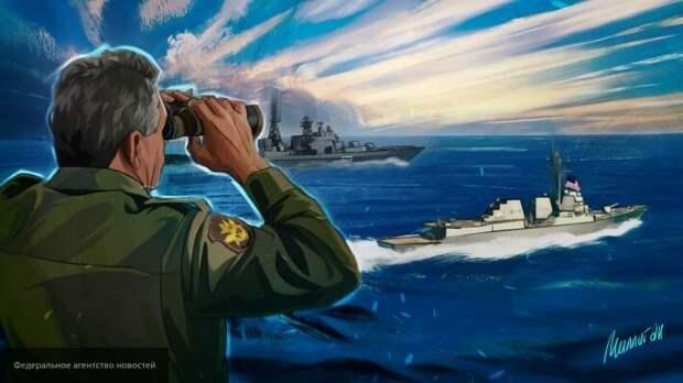 Российский капитан достойно ответил Украине на попытку высмеять флот РФ