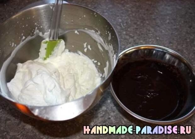 Шоколадный клубничный торт (4)