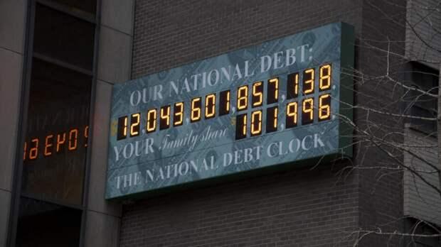 Госдолг США к середине века превысит ВВП страны в два раза