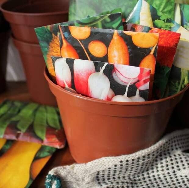 Яркая упаковка семян - еще не гарантия их качества