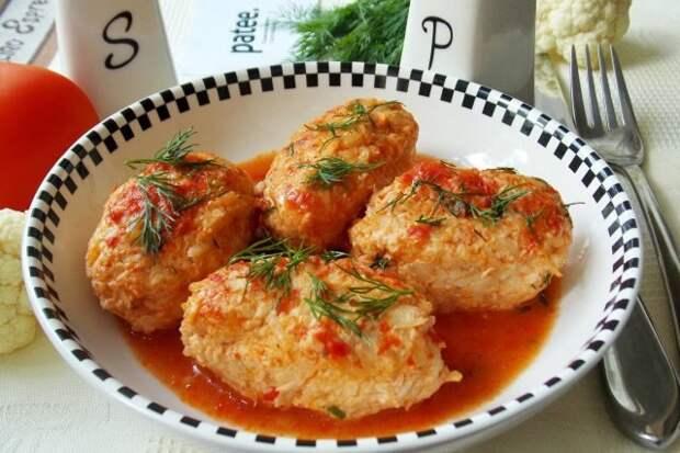 Ленивые голубцы с геркулесом: все что нужно для ПП-обеда!