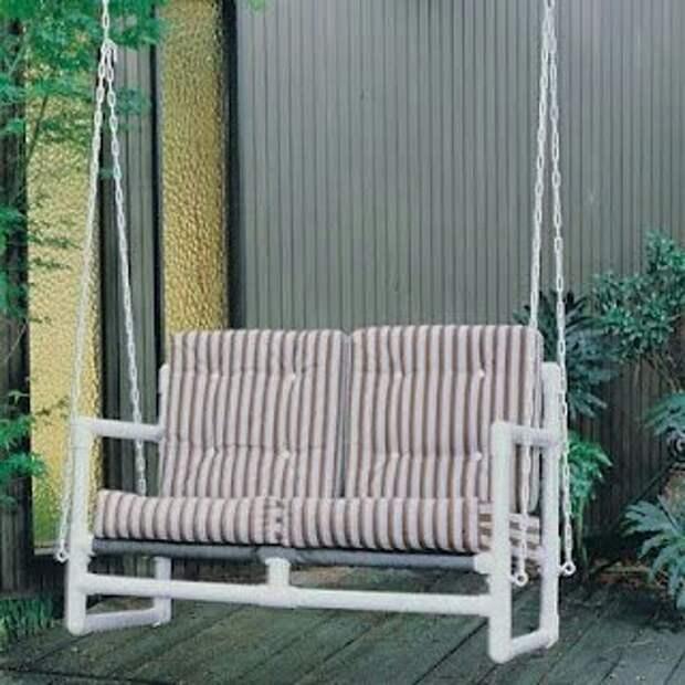 Мебель из трубок (подборка2)