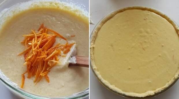 апельсиновый пирог рецепт