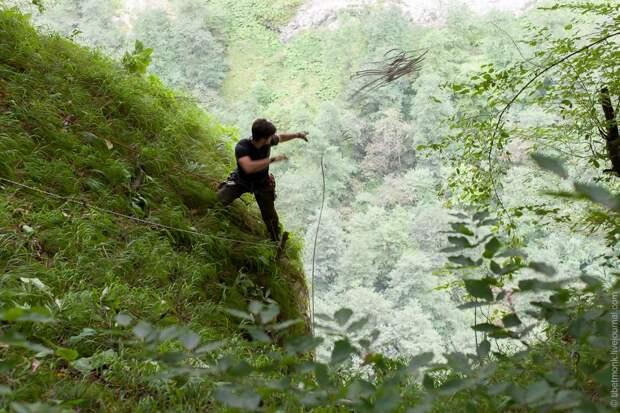 ropejumping18 Прыжок в Сухое озеро