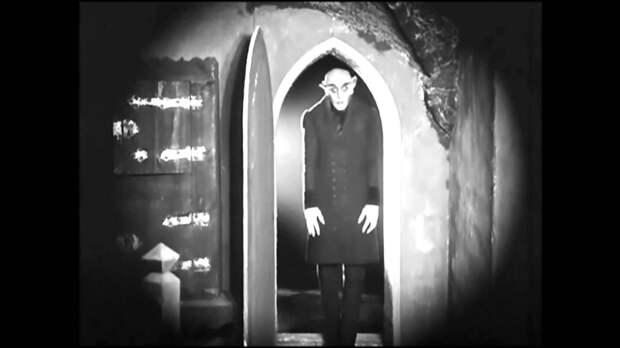 """Интересные факты о классике киноужасов  фильме """"Носферату, симфония ужаса"""" 1922 года."""