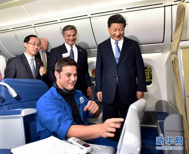 Китай заказал у компании «Боинг» 300 самолетов на сумму $38 млрд