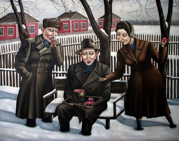AngelaJerich23 Путешествие в СССР: картины художницы Анжелы Джерих