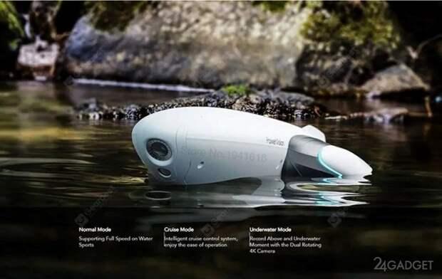 Катер-дрон Xiaomi PowerDolphin для подводной съемки в 4К