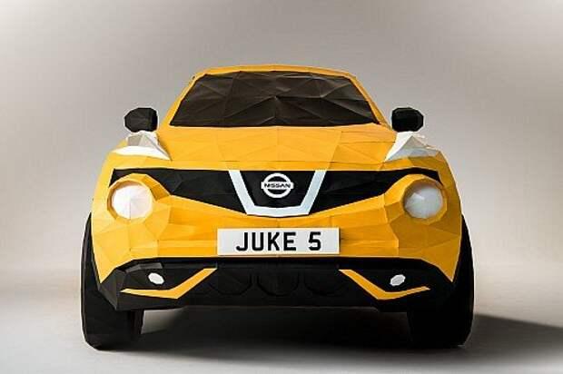 Nissan Juke увековечили в бумаге (ФОТО, ВИДЕО)